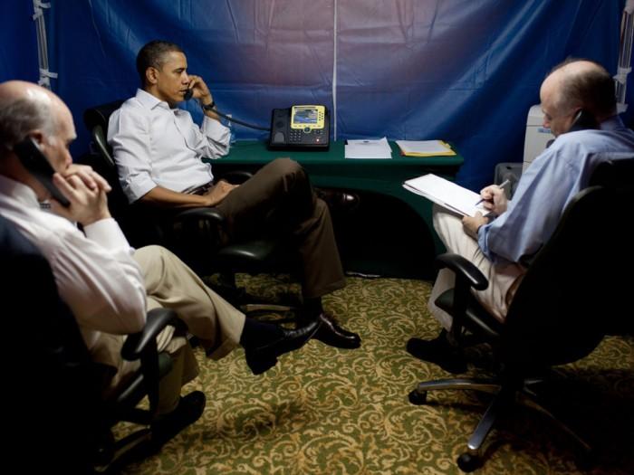 US President Barack Obama Libya Briefing