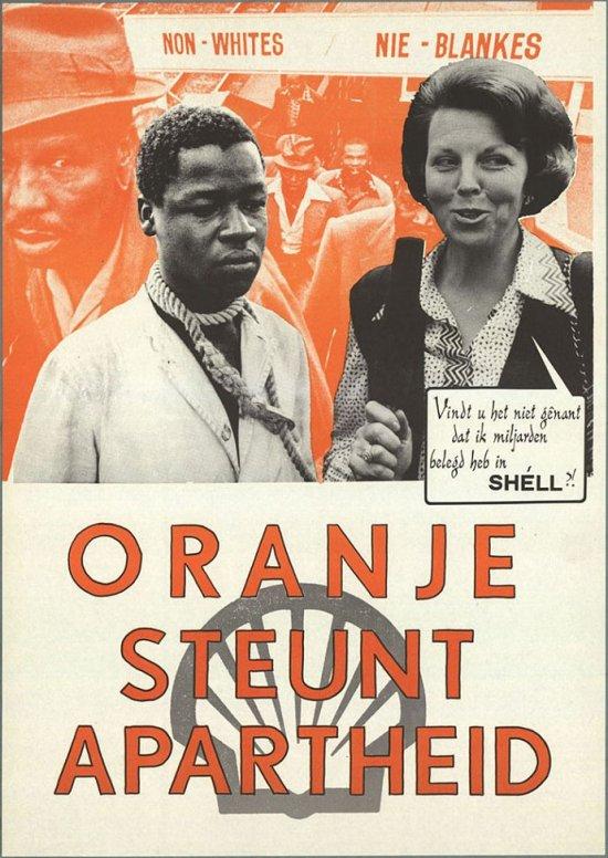 oranje steunt apartheid