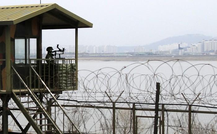 Tension between North Korea and South Korea