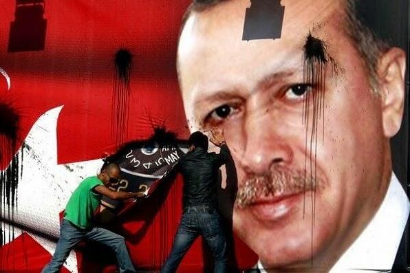 Isis en Erdogan zijn echte gezicht