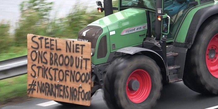Agrariërs willen kamperen op het Binnenhof